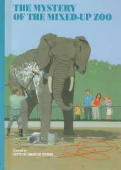 Mystery of the mixed-up zoo cover image