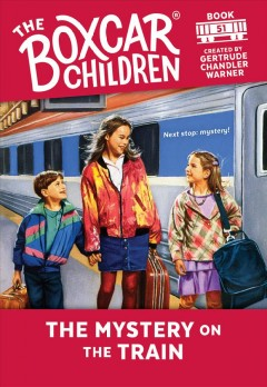 The mystery on the train cover image