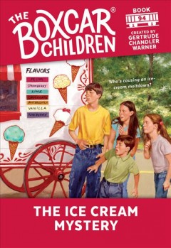 The ice cream mystery cover image
