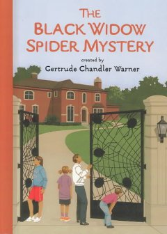 The black widow spider mystery cover image