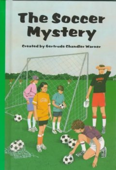 The soccer mystery cover image
