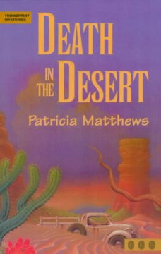 Death in the desert cover image