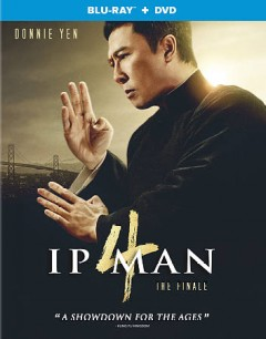 Ip man 4 [Blu-ray + DVD combo] the finale cover image