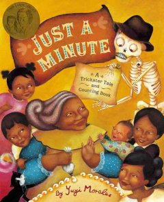 Just a minute : a trickster tale and counting book cover image