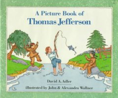 A picture book of Thomas Jefferson cover image