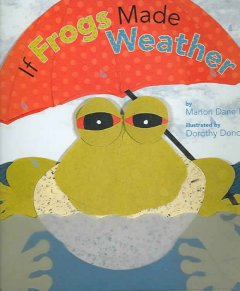 If frogs made the weather cover image