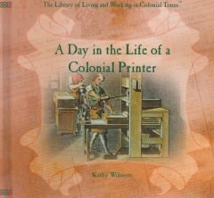 A day in the life of a colonial printer cover image