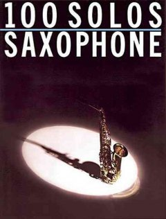 100 solos, saxophone cover image