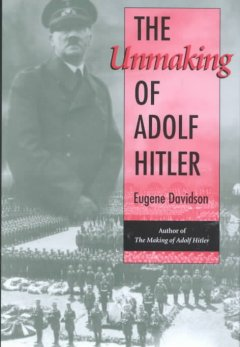 The unmaking of Adolf Hitler cover image