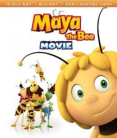 Maya the bee movie [3D Blu-ray + Blu-ray + DVD combo] cover image