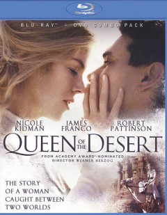 Queen of the desert [Blu-ray + DVD combo] cover image