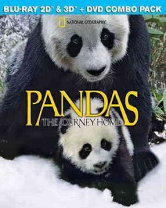 Pandas [3D Blu-ray + Blu-ray + DVD combo] the journey home cover image