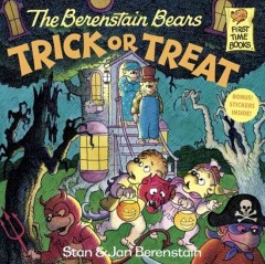 The Berenstain Bears trick or treat cover image