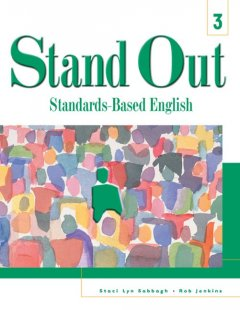 Stand out. 3 standards-based English cover image