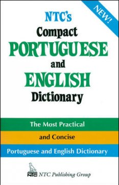 NTC's compact Portuguese and English dictionary cover image