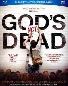 God's not dead [Blu-ray + DVD combo] cover image