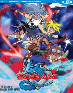 Beyblade. The original classic first series cover image