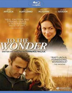 To the wonder cover image