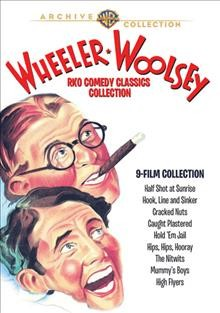Wheeler Woolsey RKO comedy classics collection cover image