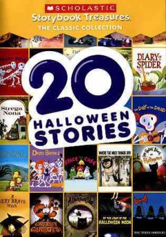 20 Halloween stories cover image