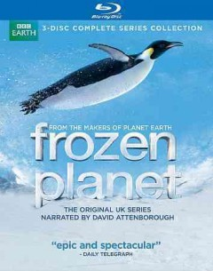 Frozen planet. The complete series cover image