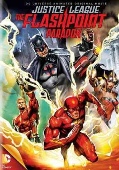 Justice League. The flashpoint paradox cover image