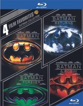 Batman collection Batman, Batman returns, Batman forever, Batman & Robin cover image