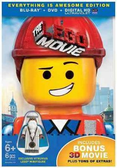 The LEGO movie [3D Blu-ray + Blu-ray + DVD combo] cover image
