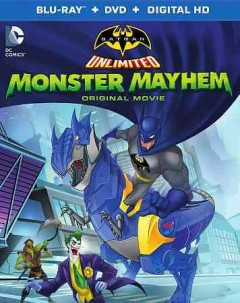 Batman unlimited. Monster mayhem [Blu-ray + DVD combo] cover image