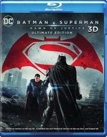 Batman v Superman [3D Blu-ray + Blu-ray combo] dawn of justice cover image