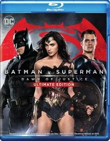 Batman v Superman [Blu-ray + DVD combo] dawn of justice cover image