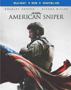American sniper [Blu-ray + DVD combo] cover image