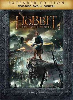 The hobbit the battle of the five armies cover image