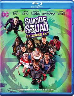 Suicide Squad [Blu-ray + DVD combo] cover image