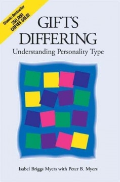 Gifts differing : understanding personality type cover image