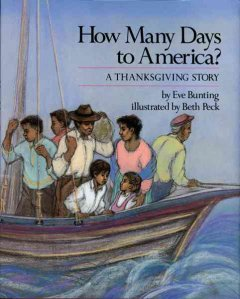 How many days to America? : a Thanksgiving story cover image