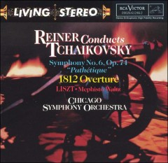 Reiner conducts Tchaikovsky cover image