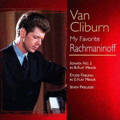 My favorite Rachmaninoff cover image