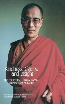 Kindness, clarity, and insight cover image