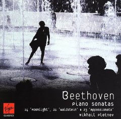 "Piano sonatas no. 14, ""Moonlight"" ; no. 21, ""Waldstein"" ; no. 23, ""Appassionata"" cover image"
