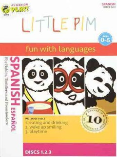 Little Pim. Spanish foreign language and fun cover image