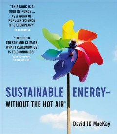 Sustainable energy--without the hot air cover image