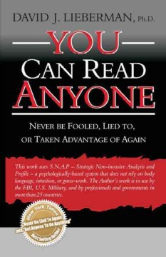 You can read anyone : never be fooled, lied to, or taken advantage of again cover image
