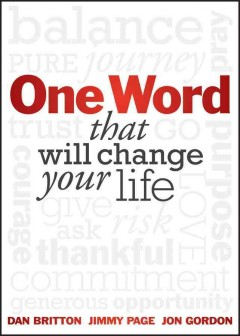 One Word that will change your life cover image