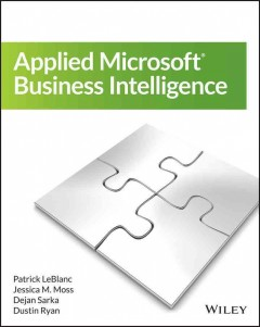 Applied Microsoft business intelligence cover image