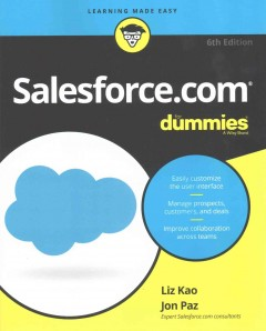 Salesforce.com for dummies cover image