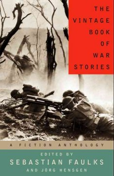 The Vintage book of war fiction cover image