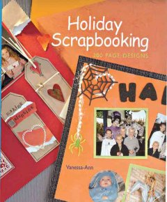 Holiday scrapbooking : 200 page designs cover image