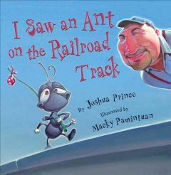I saw an ant on the railroad track cover image