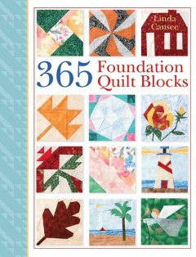 365 foundation quilt blocks cover image